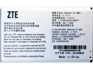 NEW OEM ZTE LI3728T42P3H794977 Battery for MF923 AT&T VELOCITY HOTSPOT Battery