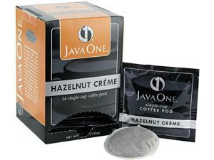 Java Trading Corporation 39870506141 Coffee Pods, Hazelnut Creme, Single Cup, 14