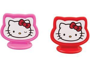 Hello Kitty Birthday Party Cake Cupcake or Cake Toppers