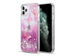 WATERFALL FUSION LIQUID QUICKSAND CASE FOR IPHONE 11 PRO BUTTERFLY MELODY
