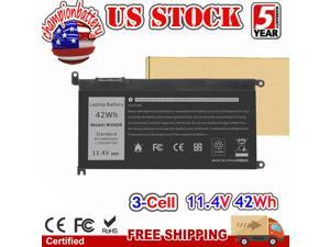 42Wh Laptop Battery For Dell Inspiron 13 5000 series 13 5368 5378 5379 WDXOR