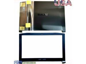 New For Acer Nitro 5 AN515-51 53 41 42 Black LCD Back Cover & LCD Front Bezel US