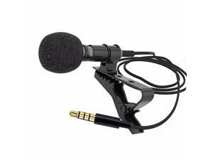 Lavalier Mic Mini Clip-on Ultimate Omnidirectional Portable Wired Microphone