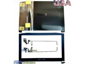 New Acer Nitro 5 AN515-51 Laptop Black LCD Back Cover & LCD Front Bezel +Hinges