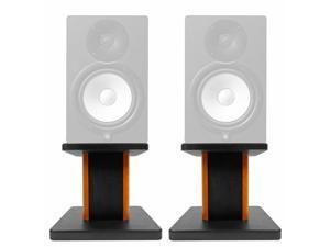 "8"" Wood Studio Monitor Speaker Stands For Yamaha HS8 Monitors"