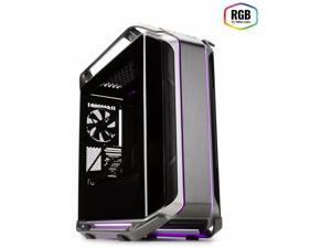 Cooler Master Cosmos C700M with ARGB Lighting Aluminum Panels a Riser Cable a...