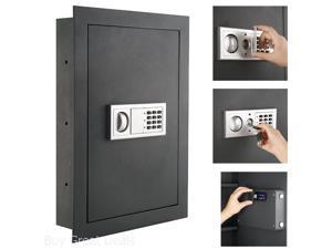 Electronic Hidden Fire Proof Wall Safe Lock Gun Cash Jewelry Office Home Steel