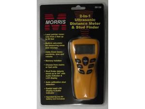 Morris 59120 Ultrasonic Distance Meter And Wood Stud Finder