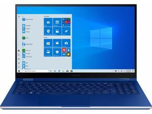 "Samsung - Galaxy Book Flex 2-in-1 15.6"" QLED Touch-Screen Laptop - Intel Core..."