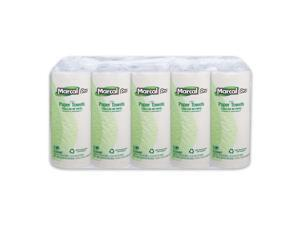 Marcal Pro 100% Recycled Paper Towels, White