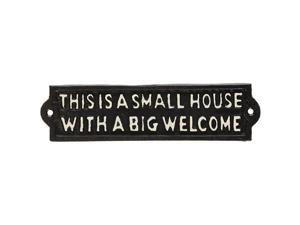 Abbott Collection Black Small House… Wall Hook