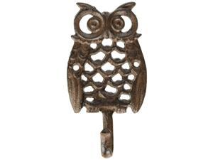 Abbott Collection Single Owl Wall Hook