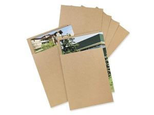 """8.5""""x11"""" Chipboard Pad Brown Kraft Sheets .022 Thickness (Pack of 100ea.)"""