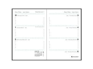 Day-Timer 2013–2014 Two-Page-Per-Day Academic Year Original Folio-Size Refill, 8.5 x 11 Inches (94010)