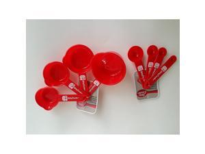 Measuring Cups and Spoons Bundle Betty Crocker Kitchen Tools Equipment Baking Cooking