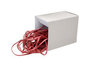Alliance Rubber Medium 12-Inch Can Bands Box of 50 Red 07825