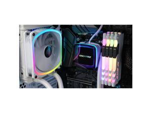 Enermax AQUAFUSION 120 ELC-AQF120-SQA-W Cooling Fan/Radiator/Water Block