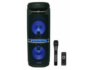 Go Party X10 Rechargeable DJ Backyard Party Speaker w/Bluetooth+Mic