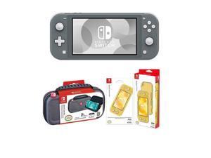 Nintendo Switch Lite, Gray With Nintendo Switch Lite Accessory Bundle