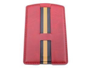 RapidX RXCARIRED CARI 3-in-1 Phone Wallet with Card Holder Stand andStrap Red
