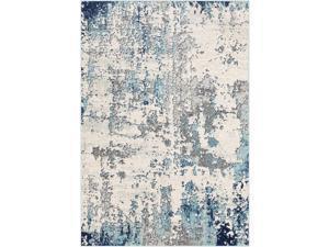 """Artistic Weavers Arti Blue Area Rug, 710"""" x 103"""""""