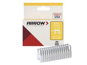 Arrow Fastener 591168 1/4-Inch T59 Insulated Staple, Clear, Single Pack