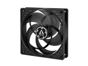 Arctic P12 PWM Pressure Optimised 120mm Cooling Fan with PWM Black/Transparent