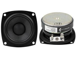 "5.25/""  Woofer Speaker Pair.Home Car Audio.5 1//4.4 ohm.five quarter inch 2 NEW"