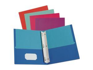 TOPS Products 8-Pocket Folder Wire Bind Letter 200 Sh Capacity Assorted 5740404