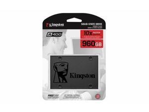 "Kingston A400 SSD 960GB SATA 3 2.5"" Solid State Drive SA400S37/960G  Performance"