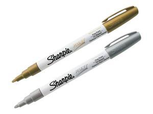 Sharpie Permanent Markers Fine Point Assorted 2/Pack (30588) 765967