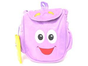Dora the Explorer Dora Plush Mr Backpack with Map New Style Rescue Bag Purple