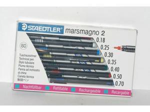 STAEDTLER MARSMAGNO 2, 711S7A6, 0.18,0.25,0.30,0.35,0.40,0.50,0.70
