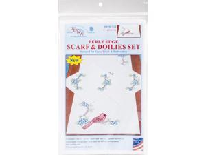 Jack Dempsey JDN1600.54 Pillowcase Perle XX Stars Pillowcase Perle XX Star