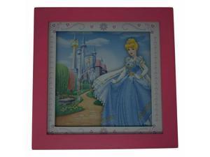 Disney Princess Framed Wall Art 10x10, Cinderella