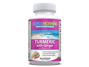 Turmeric Curcumin with Ginger & Bioperine Anti-Inflammatory Supplement - 60 Capsules