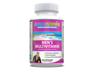 Multivitamin Supplement for Men, Essential Vitamins, Minerals & Antioxidants - 60 Capsules