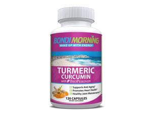 Turmeric Curcumin with Bioperine 1200mg Anti-Inflammatory Supplement - 120 Capsules