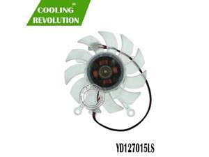 New for ASUS 8600GT 9500GT 9600GT Graphics card cooling fan YD127015LS 12V 0.11A 2Pin