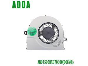 Original CPU Cooling Fan AB07505HX070300 00CMR DC5V 0.50A