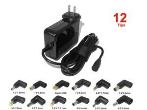 90W Universal Power Adapter Charger for Lenovo Asus Dell Hp Acer 19V 19.5V 20V Laptop Ac Adapter Wall Charger