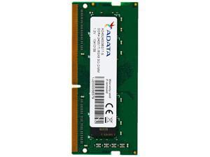 ADATA 8GB DDR4 2400 (PC4-19200) SODIMM 260-Pin Laptop Memory Module Single Pack (AD4S240038G17-S)