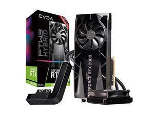 EVGA GeForce RTX 2080 Super FTW3 Hybrid Gaming, 8GB GDDR6, RGB LED Logo, iCX2 Technology, Metal Backplate + PowerLink 08G-P4-3288-Kp