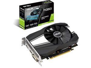 ASUS GeForce GTX 1650 Super Overclocked 4GB Phoenix Fan Edition HDMI DP DVI Graphics Card (PH-GTX1650S-O4G)