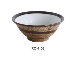 """Yanco RO-4108 ROCKEYE 8.5"""" Noodle Bowl 40 OZ"""