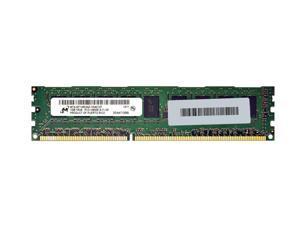 Micron 1GB PC3-10600 DDR3-1333MHz ECC Unbuffered CL9 240-Pin DIMM Single Rank Memory Module MT9JSF12872AZ.1G4G1