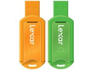LEXAR USB  Jump Drive  8GB FLASH DRIVE USB 3.0 INTERFACE  LJDV20-8GB -GREEN 000-103 CAPLESS Compatible with Mac and PCs