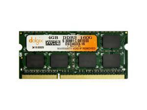 DOLGIX 4GB DDR3 PC3-12800 1600MHz Sodimm Laptop RAM Memory Designed for Apple Mac