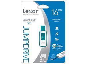 LEXAR 16GB USB FLASH DRIVE  LJDS23-16GBASBNA  TEAL
