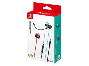 Nintendo Switch Gaming Earbuds Pro with Mixer by Hori - Licensed by Nintendo